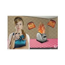 Bad Toaster Magnet