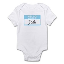 Hello, My Name is Josh - Infant Bodysuit