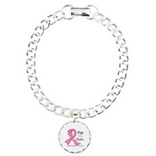 Sister Breast Cancer Ribbon Bracelet