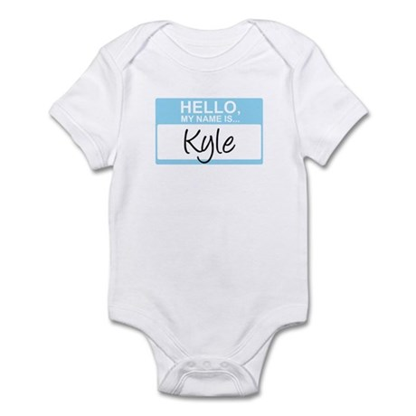Hello, My Name is Kyle - Infant Bodysuit