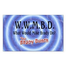 What Would Mike Brady Do? Decal
