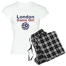 Soccer Game On Pajamas