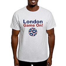 Soccer Game On T-Shirt
