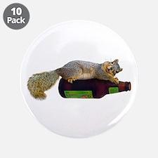 """Squirrel Empty Bottle 3.5"""" Button (10 pack)"""