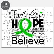 Faith Hope Bile Duct Cancer Puzzle