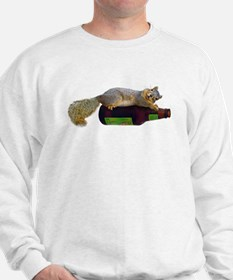 Squirrel Empty Bottle Sweatshirt
