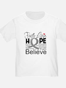 Faith Hope Brain Cancer T