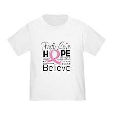 Faith Hope Breast Cancer T