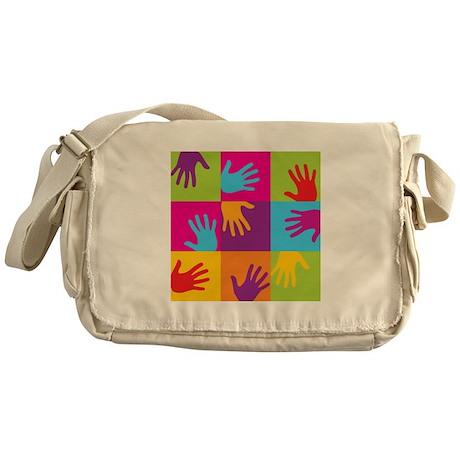 Hands Up Messenger Bag