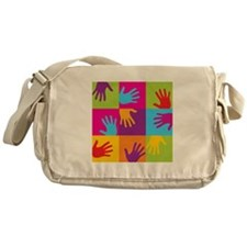 Hands Up Messenger Bag