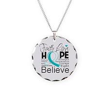 Faith Hope Cervical Cancer Necklace
