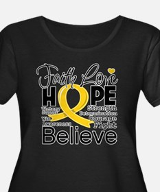 Faith Hope Childhood Cancer T