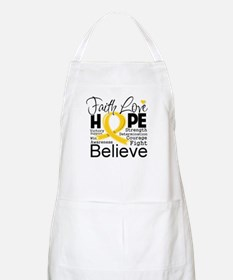 Faith Hope Childhood Cancer Apron