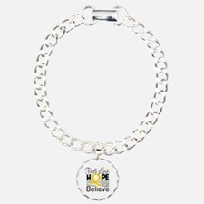 Faith Hope Childhood Cancer Bracelet