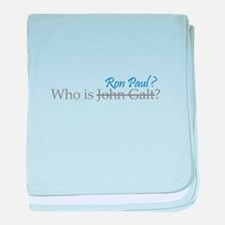 Who is Ron Paul? baby blanket