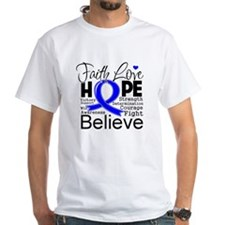 Faith Hope Colon Cancer Shirt
