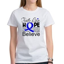 Faith Hope Colon Cancer Tee