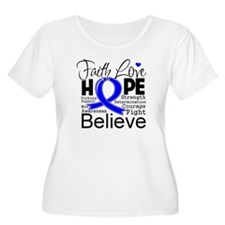 Faith Hope Colon Cancer T-Shirt
