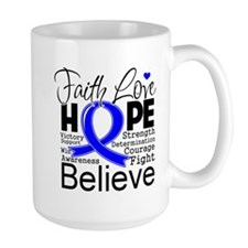 Faith Hope Colon Cancer Mug
