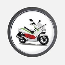 Cute Scooters Wall Clock