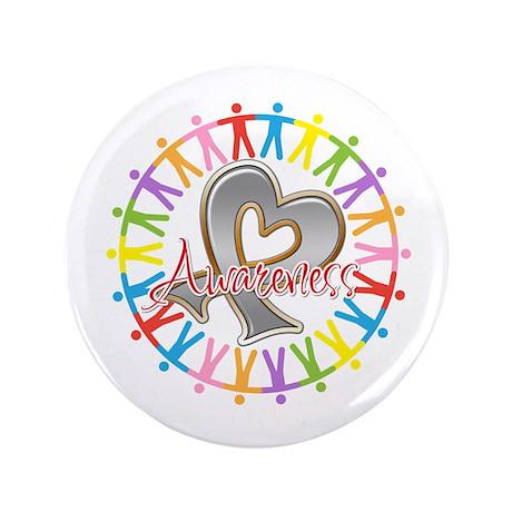 """Parkinsons Disease Unite 3.5"""" Button"""
