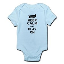 Keep Calm Baritone Infant Bodysuit