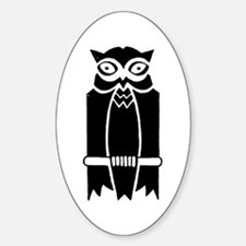 Owl Silhouette Decal