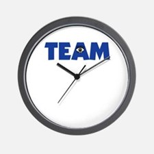 (Eye) I in Team Wall Clock