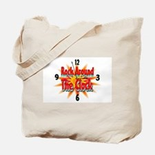 rock around theclock Tote Bag