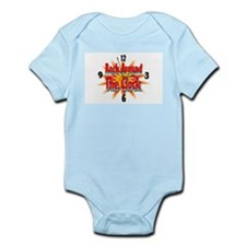 rock around theclock Infant Bodysuit