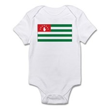 Abkhazia Flag Infant Bodysuit