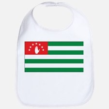 Abkhazia Flag Bib