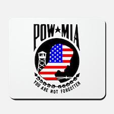 POW MIA Flag Mousepad