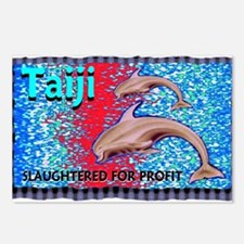 stop the slaughter of dolphin Postcards (Package o