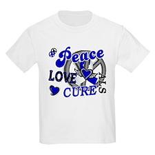 Peace Love Cure ALS 2 T-Shirt