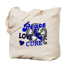 Peace Love Cure ALS 2 Tote Bag