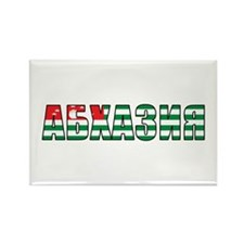 Abkhazia (Russian) Rectangle Magnet (100 pack)