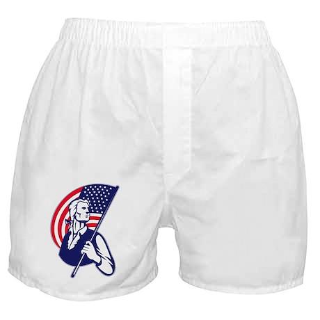 American Patriot Boxer Shorts