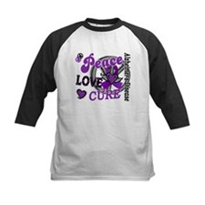 Peace Love Cure 2 Alzheimers Tee