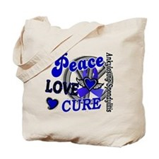 Peace Love Cure 2 AS Tote Bag