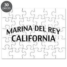 Marina del Rey California Puzzle
