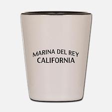 Marina del Rey California Shot Glass