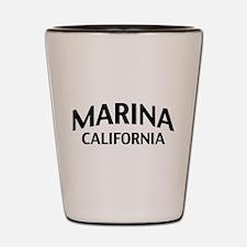 Marina California Shot Glass