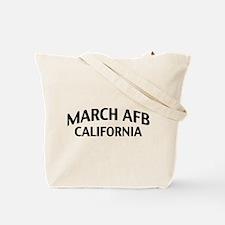 March AFB California Tote Bag