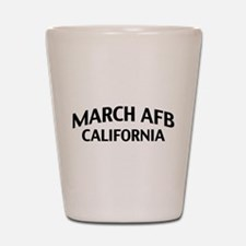March AFB California Shot Glass