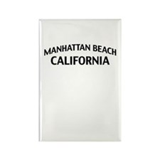 Manhattan Beach California Rectangle Magnet