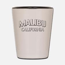 Malibu California Shot Glass
