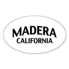 Madera California Decal