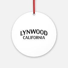Lynwood California Ornament (Round)