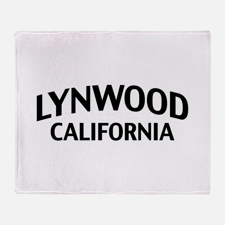 Lynwood California Throw Blanket